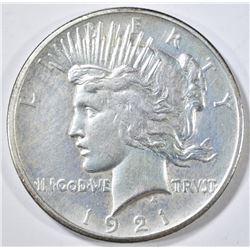 1921 PEACE DOLLAR AU KEY DATE