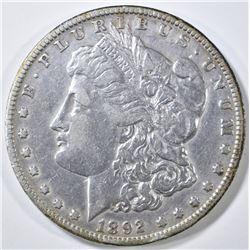 1892-O MORGAN DOLLAR XF/AU