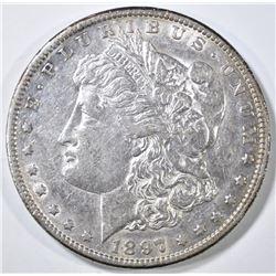 1897-S MORGAN DOLLAR AU/BU