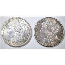 1901-O & 02-O MORGAN DOLLARS CH BU