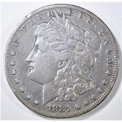 1881-CC MORGAN DOLLAR VF