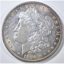 1893 MORGAN DOLLAR AU/BU