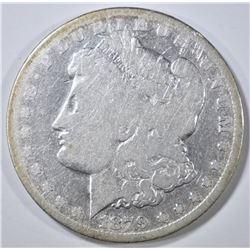 1879-CC MORGAN DOLLAR, VG/FINE