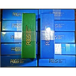 12-USED PLASTIC PCGS SLABBED COIN BOXES
