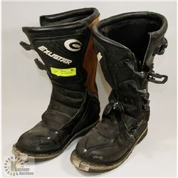 EXUSTAR US SIZE 10 DIRT BIKE BOOTS