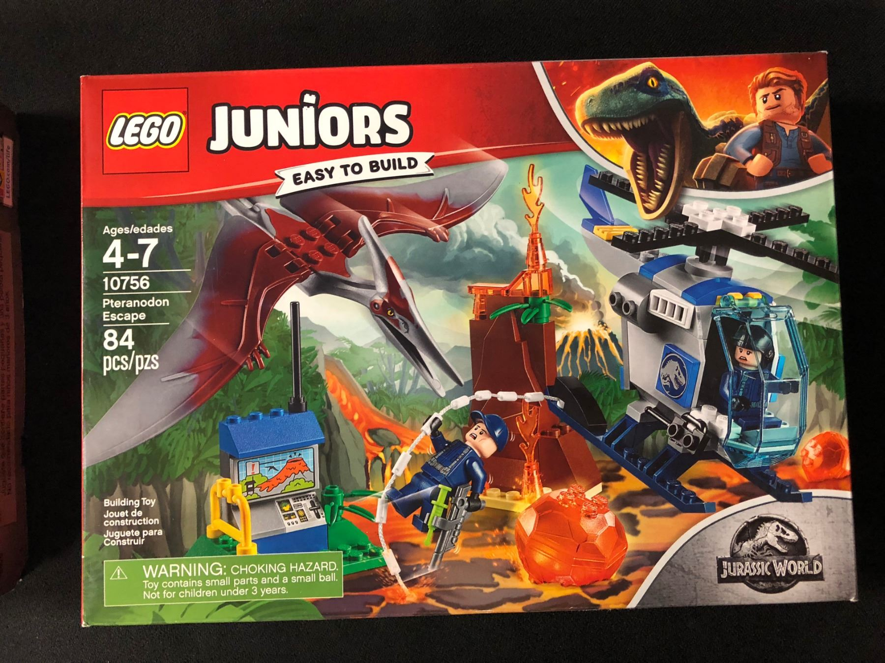 LEGO Juniors Jurassic World Pteranodon Escape 10756 NEW!