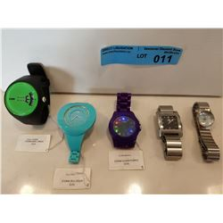 5 X ASSORTED STORM WATCHES