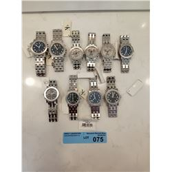 LOT OF 10 X CK STAINLESS STEEL WATCHES
