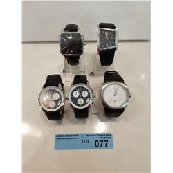 LOT OF 5 X CK MENS WATCHES