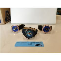 LOT OF 3 X CHRISTIAN AUDIGIER WATCHES