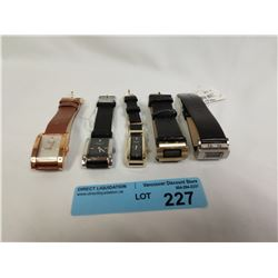 5 X ASST KENNETH COLE WATCHES