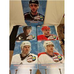 5 X KRAFT NHL DISPLAY TOPPERS