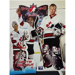 3 X TEAM CANADA STANDING CARDBOARD CUTOUTS