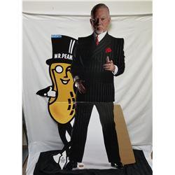 DON CHERRY & MR PEANUT STANDING CARDBOARD CUTOUT