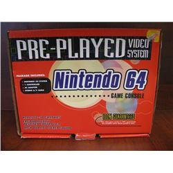 NINTEDO 64 GAME CONSOLE