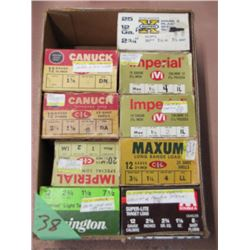 Lot 9 Boxes Collector Shotgun Ammo - Misc Quantities