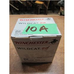 Box 500 Rounds Winchester .22LR Wild Cat
