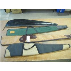 Lot 4 Soft Side Gun Cases
