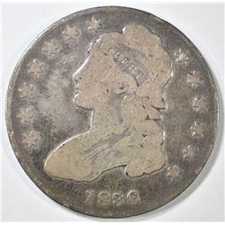 1836 BUST HALF DOLLAR   VG