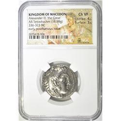 336-323 KINGDOM OF MACEDON BC ALEXANDER III 'THE G