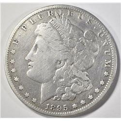 1895-O MORGAN DOLLAR  FINE CLEANED
