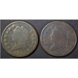 2-1814 LARGE CENTS