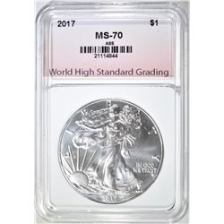 2017 AM. SILVER EAGLE WHSG