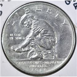 1925-S CALIFORNIA COMMEM HALF DOLLAR, CH BU+