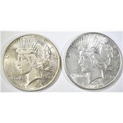 2-1926-D PEACE DOLLARS AU