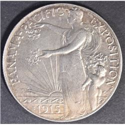 1915-S PAN-PAC COMMEM HALF DOLLAR