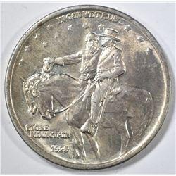 1925 STONE MOUNTAIN COMMEM HALF DOLLAR GEM BU