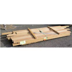 "White Oak Bundle, 133 Total Board Ft, 1"" x 10' Ave Per Piece"