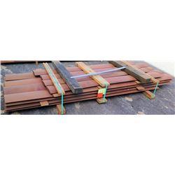 "Sapele Bundle, 188 Total Board Ft, 1.25"" x 9.75' Ave Per Piece"