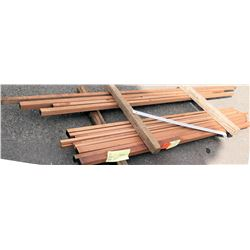 "Sapele Bundle, 29 Total Board Ft, 2"" x 8' Ave Per Piece"