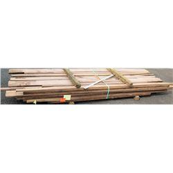 "Walnut Bundle, 333 Total Board Ft, 1"" x 10' Ave Per Piece"