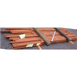 "Sapele Bundle, 147 Total Board Ft, 2"" x 11' Ave Per Piece"