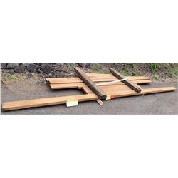 "Iroko Bundle, 48 Total Board Ft, 2"" x 8' Ave per Piece"