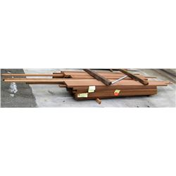 "Sapele Bundle, 320 Total Board Ft, 2"" x 8' Ave Per Piece"