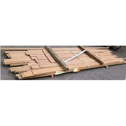 "Walnut Bundle, 110 Total Board Ft, 1"" x 11' Ave Per Piece"