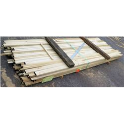 "Poplar Bundle, 233 Total Board Ft, 1"" x 10' Ave Per Piece"