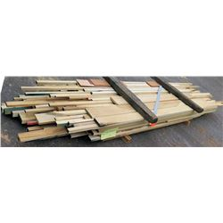 "Poplar Bundle, 600 Total Board Ft, 1"" x 12' Ave Per Piece"