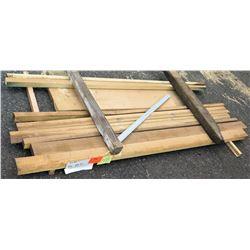 "Poplar Bundle, 46 Total Board Ft, 2"" x 7.5' Ave Per Piece"