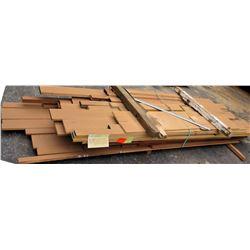 "Wood Bundle, 342 Total Board Ft, 1"" x 9' Ave Per piece"