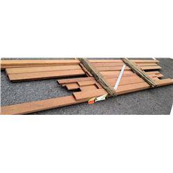 "Redwood Bundle, 100 Total Board Ft, 1.5"" x 10' Ave Per Piece"
