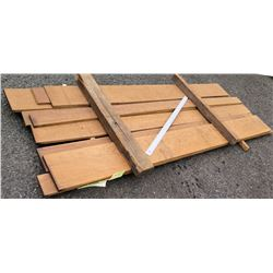 """Cumaru Bundle, 60 Total Board Ft, 1"""" x 9' Ave Per Piece"""