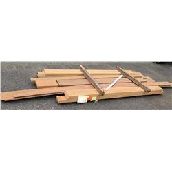 "Wood Bundle, 120 Total Board Ft, 1"" x 9' Ave Per Piece"
