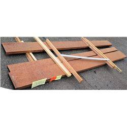 "Jatoba Bundle, 43 Total Board Ft, 2"" x 10' Ave Per Piece"