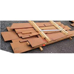 "Wood Bundle, 133 Total Board Ft, 1"" x 8' Ave Per Piece"