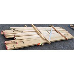 "White Oak Bundle, 66 Total Board Ft, 1"" x 11' Ave Per Piece"