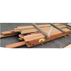 "Wood Bundle, 480 Total Board Ft, 1"" x 12' Ave Per Piece"